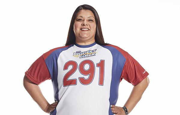 courtesy NBCJackie Pierson says she put on a lot of weight after her father was diagnosed with cancer in 2004.