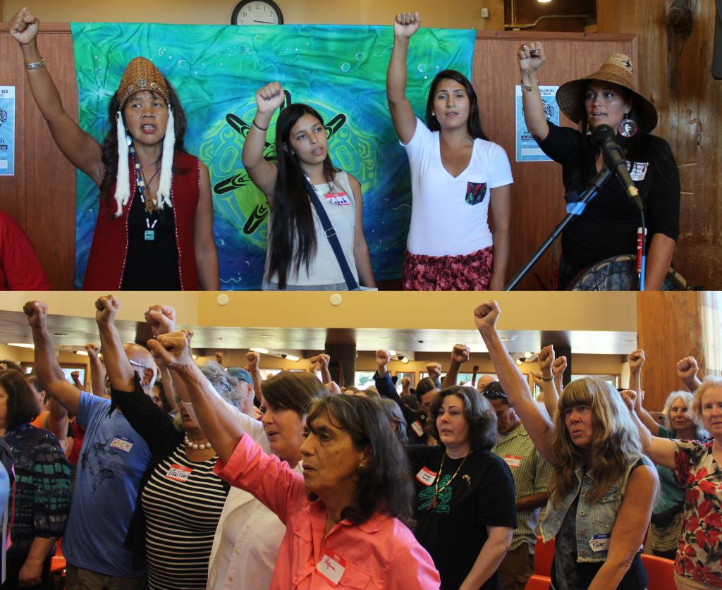 The Nawt-sa-maat is fighting to save the Salish Sea from destruction. Photo by Kelton Sears