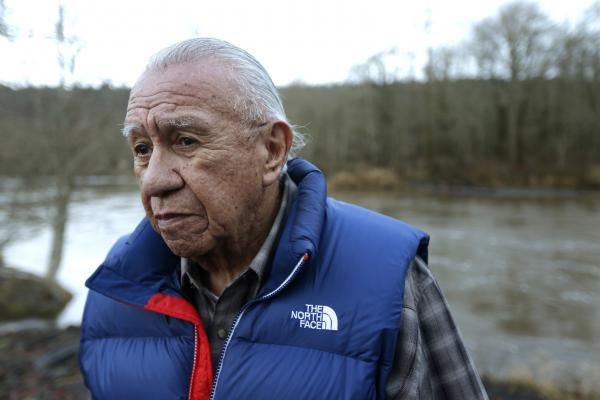AP images/Ted S. WarrenBilly Frank Jr. is seen here in January 2014.