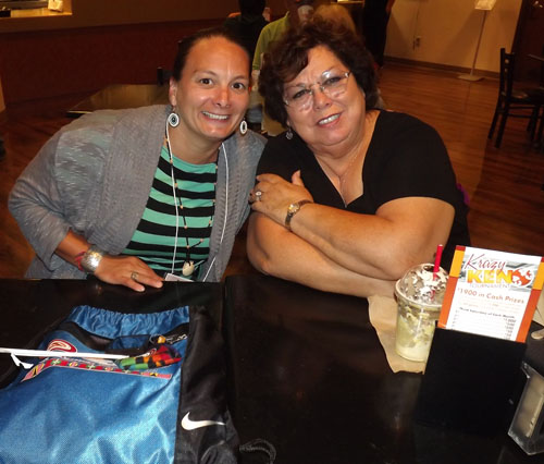Councilwoman Theresa Sheldon (left) was elected to the Executive Council of the Affiliated Tribes of Northwest Indians