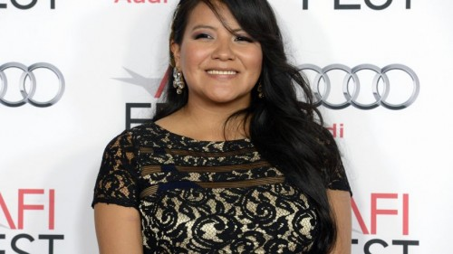 """November 8, 2013. Cast member Misty Upham attends a screening of the film """"August: Osage County"""" during AFI Fest 2013 in Los Angeles. (Reuters)"""
