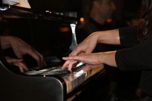 From classic piano to rock, music was a centerpiece of the evening.