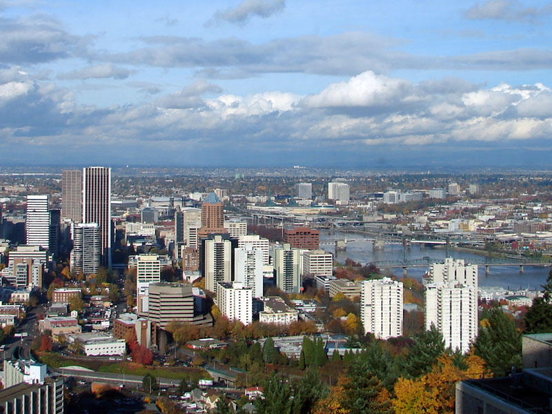 Portland's skyline looking northJami Dwyer Wikimedia