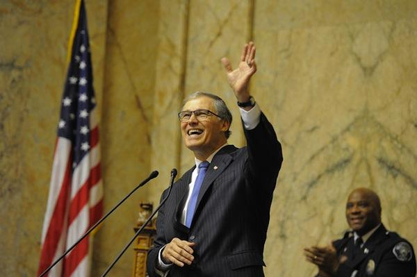 Washington State Governor Jay Inslee