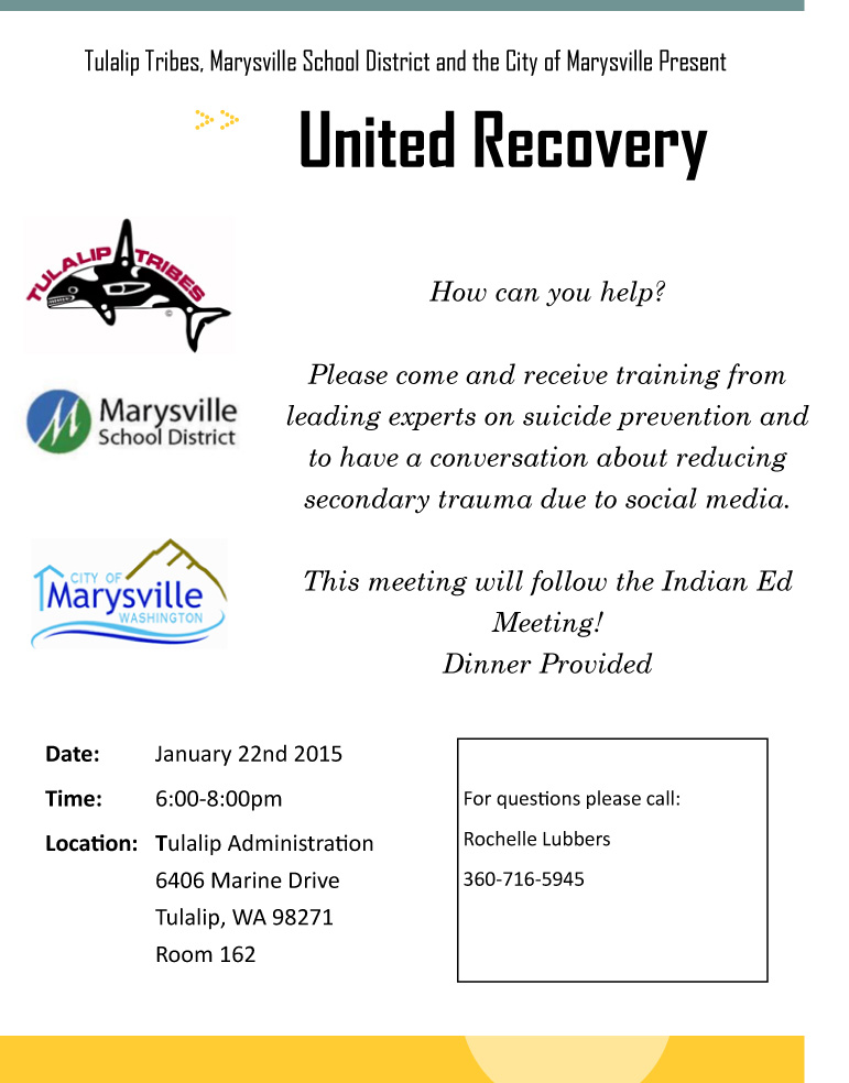 United Recovery Community Dinner