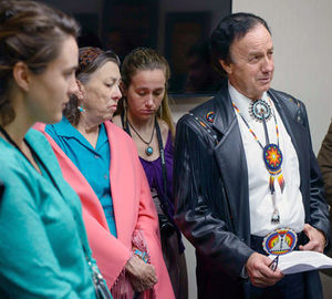 Becket Fund stands up for Mr. Robert Soto, Lipan Apache tribal leader and feather dancercourtesy photo
