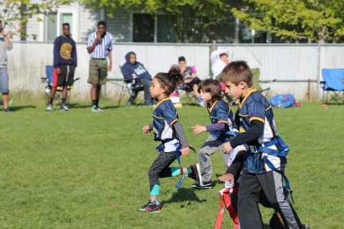 Tulalip Boys & Girls Club flag football