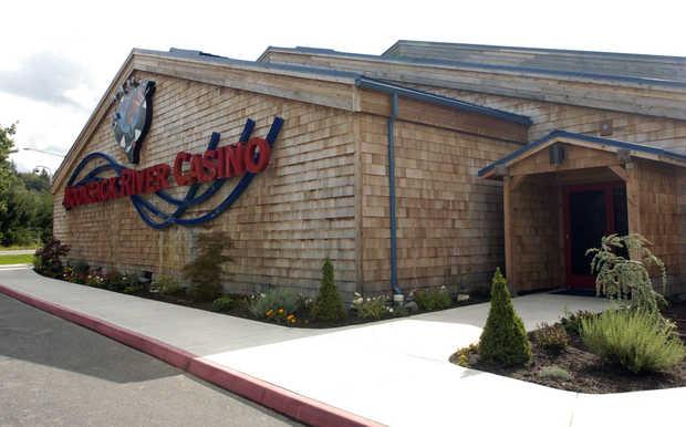The Nooksack River Casino in Deming.THE BELLINGHAM HERALD