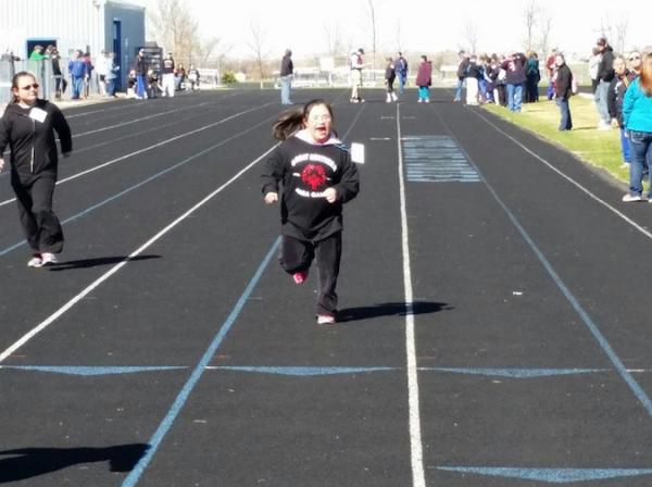 Courtesy Amy ByrdSway-Anne Byrd, Cherokee, is a 14-year-old competitor in the Special Olympics.