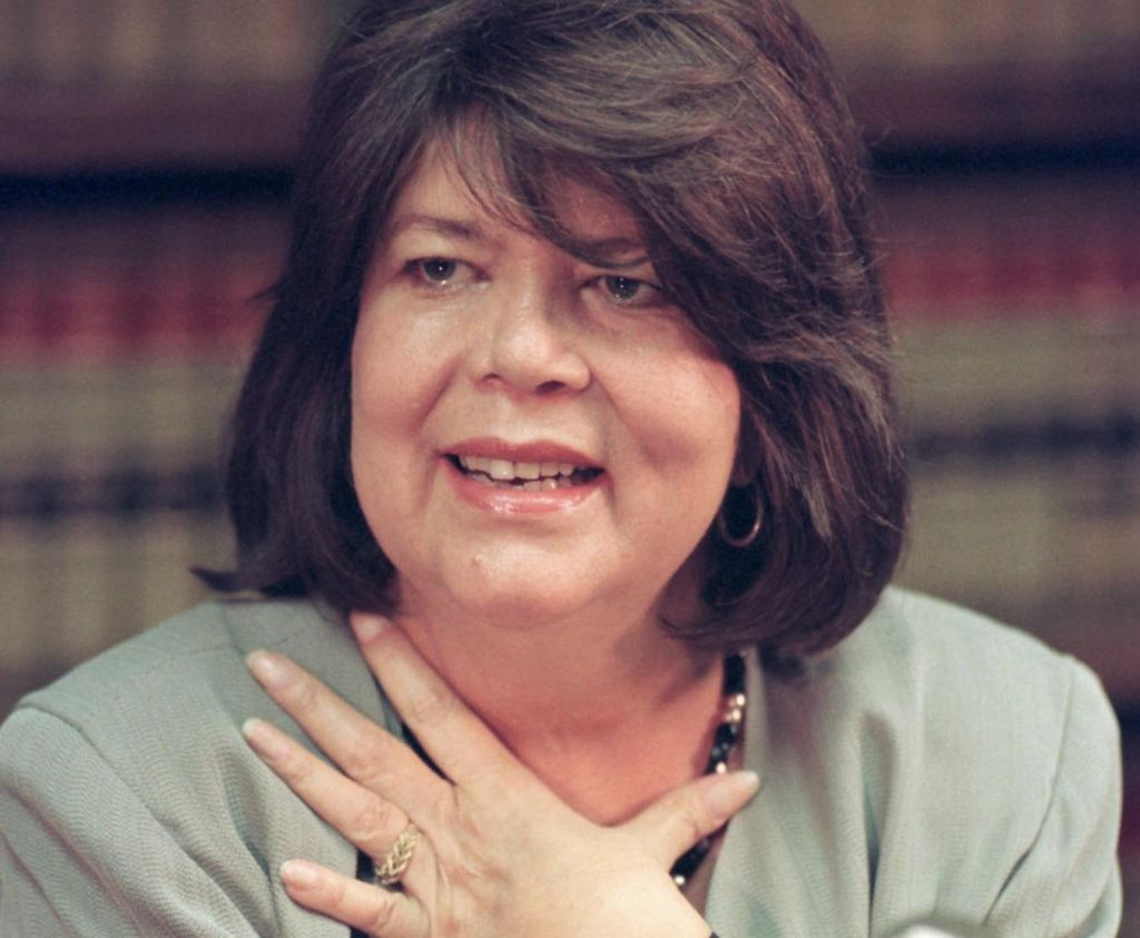 The late Wilma Mankiller was the first woman elected to the position of principal chief of the Cherokee Nation. Photo from All Things Cherokee