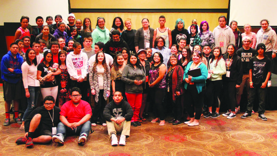 On Monday, May 11, and Tuesday, May 12, the Tulalip Resort Casino hosted the 3rd Annual Community Wellness Conference. The target audience this year was our tribal youth. Photo/Micheal Rios