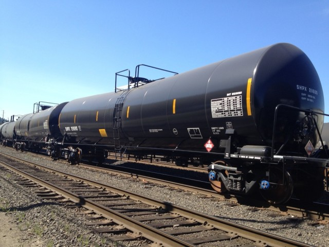 File photo of oil train tankers in a Portland railyard.Tony Schick/OP