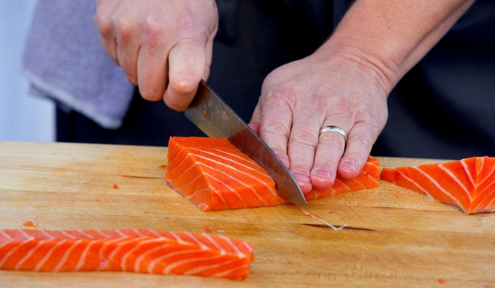 Copper River salmon from Alaska (Mike Siegel/The Seattle Times)