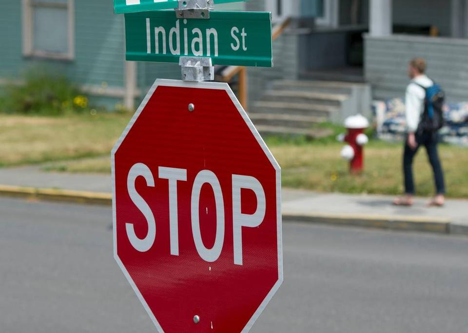 Bellingham City Council favors changing Indian Street to Billy Frank Jr. Street. | PHILIP A. DWYER The Bellingham Herald