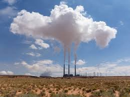 The Navajo Generating Station is one of the country's dirtiest power plants. Credit: Wikipedia.
