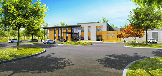 Smokey Point Behavioral Hospital rendering. Photo/CollinsWoerman