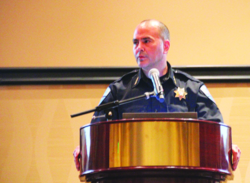 Chief Carlos Echevarria of the Tulalip Police Department.